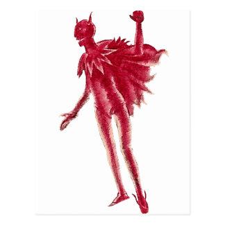 Red Devil Postcard