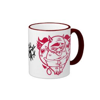 red devil ringer mug