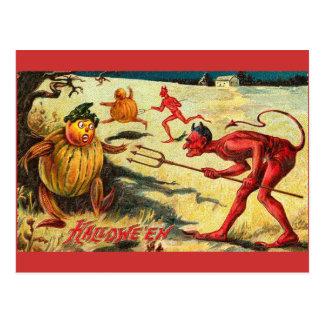 Red Devil Vintage Postcard
