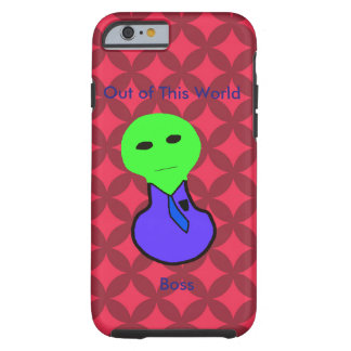 Red Diamond and Alien Boss Iphone 6 Case Tough iPhone 6 Case