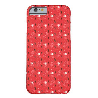Red Diamond Bull Terrier Barely There iPhone 6 Case