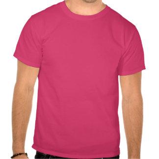 Red Diamond Pattern T Shirts