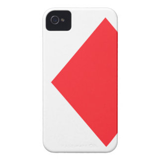 Red Diamond - Suit of Gambling Cards iPhone 4 Case