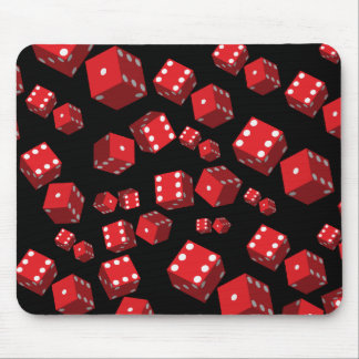 Red Dice Mousepads