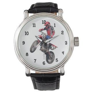 Red Dirt Bike Watch