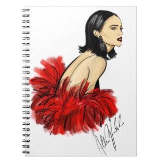 Red Diva Notebook