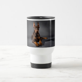 Red Doberman Pinscher Mug