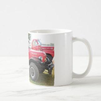 Red Dodge Power Wagon Basic White Mug