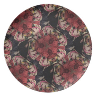 Red Dog Collection Plate