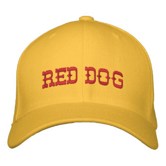 RED DOG EMBROIDERED HAT