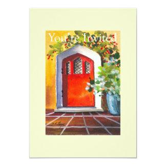 Red Door Chapel Invitation