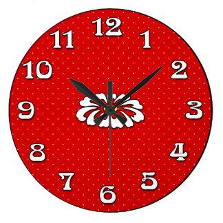 Red Dot Daisy Timekeeper Clocks