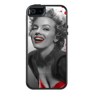 Red Dots Marilyn OtterBox iPhone 5/5s/SE Case