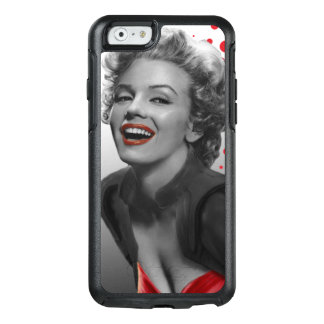 Red Dots Marilyn OtterBox iPhone 6/6s Case