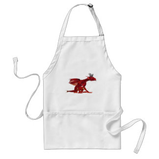 Red Dragon  Apron