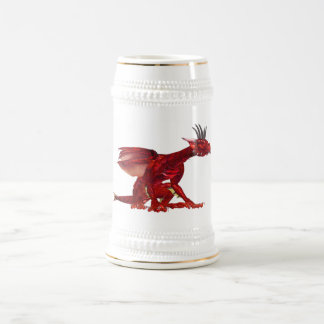 Red Dragon Beer Stein Mugs