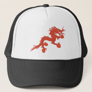 Red Dragon (Bhutan) Trucker Hat