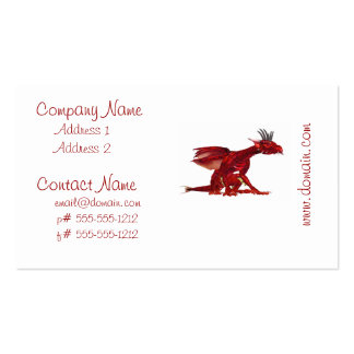 Red Dragon Business Cards