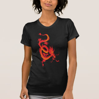 Red Dragon Chinese New Year T Shirts