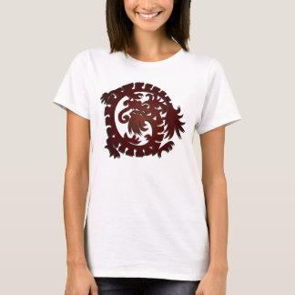Red Dragon Circle 2 - T-Shirt