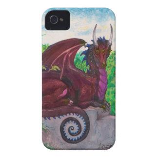 Red Dragon Dragoness Crimson Fantasy Monster Case-Mate iPhone 4 Case