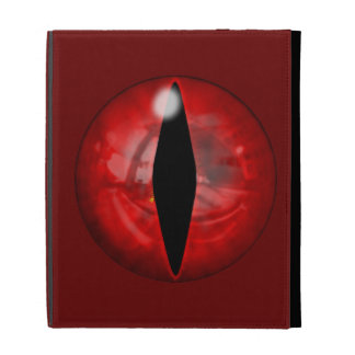 Red Dragon Eye iPad Folio Cases
