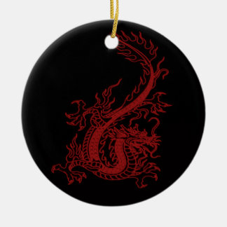 Red Dragon Glaurung Ornament