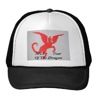 Red Dragon Mesh Hat