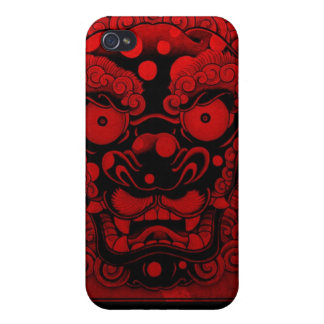 red dragon iPhone 4 cover