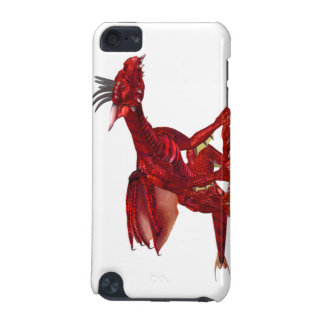 Red Dragon iTouch Case iPod Touch (5th Generation) Cover