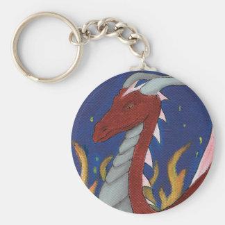 Red Dragon Key Ring