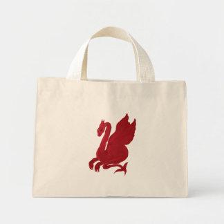 Red Dragon Mini Tote Bag