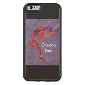 Red Dragon Myth Fantasy Maple iPhone 6 Bumper