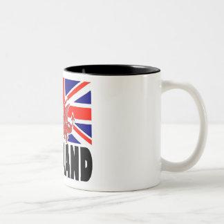 Red Dragon of England Two-Tone Mug