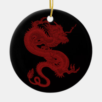 Red Dragon Pendragon Ornament