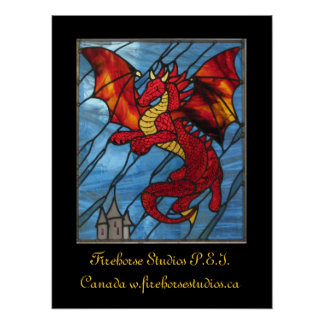 Red Dragon Poster