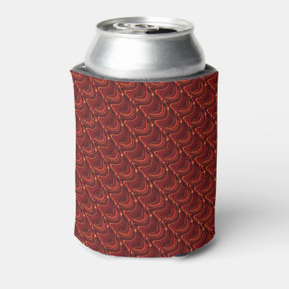 Red Dragon Scales Beer Sleeve / Can Cooler