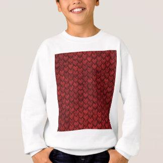 Red Dragon Skin Sweatshirt