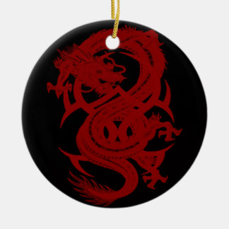 Red Dragon Xiuhcoatl Ornament