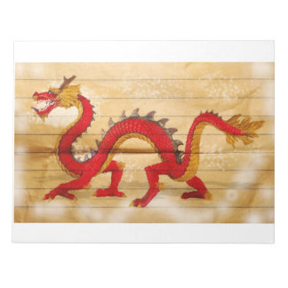 red dragoon memo notepads
