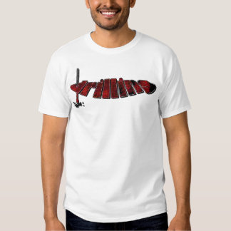 Red Drilling Process Tee Shirt