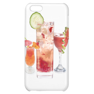 Red Drinks Case For iPhone 5C