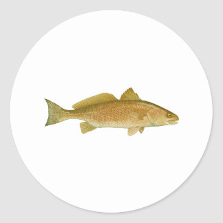 Red Drum Classic Round Sticker