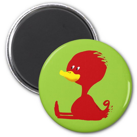Red ducky magnet