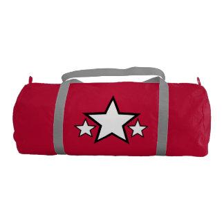 Red Duffle Gym Bag