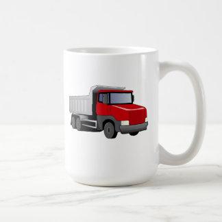Red Dump Truck Mugs