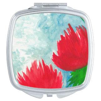 Red Duo Vanity Mirror