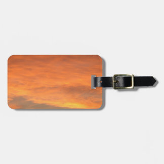 Red Dusk Luggage Tag