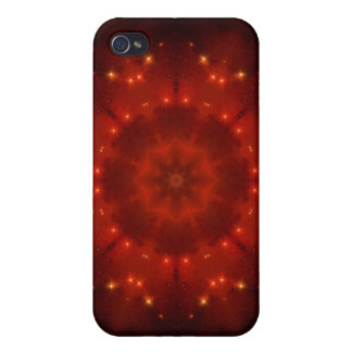 Red Dwarf Mandala Cases For iPhone 4