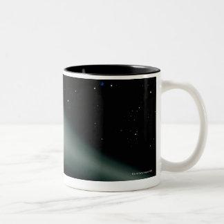 Red Dwarf Star AU Microscopii Two-Tone Coffee Mug